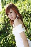 Modello asiatico Immagine Stock