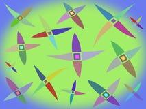 Modello astratto colorato Fotografia Stock Libera da Diritti