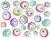 Modello astratto colorato Immagini Stock