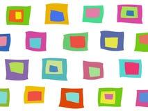 Modello astratto colorato Immagine Stock