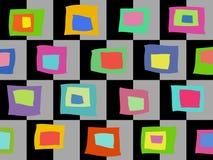 Modello astratto colorato Immagini Stock Libere da Diritti