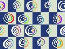 Modello astratto colorato Fotografie Stock