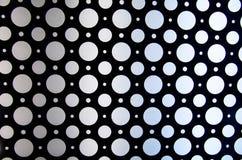 Modello astratto dei cerchi con luce luminosa Immagine Stock