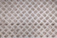 Modello astratto del piatto di alluminio consumato Immagini Stock