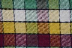 Modello astratto del tessuto della lana Fotografie Stock