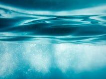 Modello astratto dell'acqua Fotografie Stock