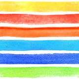 Modello astratto dell'acquerello Immagini Stock Libere da Diritti