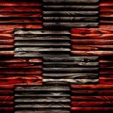 Modello astratto dell'incorniciatura - fondo senza cuciture - superficie di legno fotografia stock