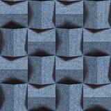 Modello astratto dell'incorniciatura - modello senza cuciture, struttura delle blue jeans immagine stock