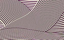 Modello astratto della banda della curva Immagini Stock