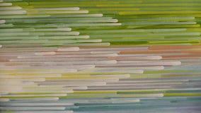 Modello astratto della banda: dipinga i colori a olio su tela Fotografia Stock