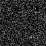 Modello astratto delle stelle d'argento di caduta casuali sul backgro nero Fotografia Stock
