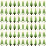 Modello astratto di forma dell'albero di Natale illustrazione di stock
