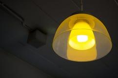 Modello astratto di giallo e di arancio Fotografia Stock Libera da Diritti
