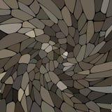 Modello astratto di vettore delle pietre mosaico Pallet grigio di colore - Vektorgrafik royalty illustrazione gratis