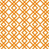 Modello astratto di vettore Priorità bassa a strisce arancione royalty illustrazione gratis