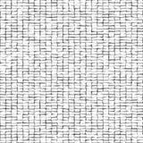 Modello astratto distorto dei quadrati Quadrati neri isolati su fondo bianco Illustrazione per il vostro disegno Struttura rumoro Immagini Stock Libere da Diritti