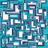 Modello astratto geometrico di colore nello stile dei graffiti illustrazione di vettore di qualità per la vostra progettazione illustrazione vettoriale