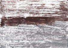 Modello astratto grigio dell'acquerello Fotografia Stock