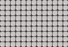 Modello astratto nei colori grigi Immagine Stock