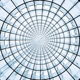 Modello astratto radiale dell'anello Immagini Stock Libere da Diritti