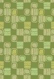 Modello astratto senza cuciture di vettore con le forme quadrate illustrazione di stock