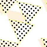 Modello astratto - triangoli Immagini Stock Libere da Diritti