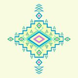 Modello azteco. illustrazione di stock