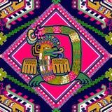 Modello azteco senza cuciture illustrazione di stock