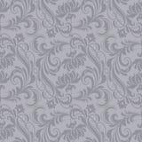 Modello barrocco grigio royalty illustrazione gratis