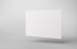 Modello in bianco Immagini Stock