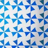 modello bianco Blu della turbina Fotografia Stock Libera da Diritti
