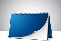 Modello in bianco del calendario Fotografia Stock