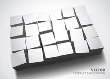 Modello bianco del fondo Immagine Stock