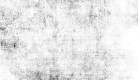 Modello bianco del graffio di lerciume Le particelle monocromatiche sottraggono la struttura Sovrapposizioni di stampa nere dell' fotografia stock