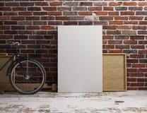 Modello in bianco della tela Fotografia Stock Libera da Diritti