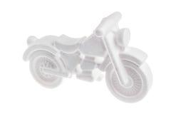 Modello bianco di schiuma di stirolo Immagine Stock Libera da Diritti