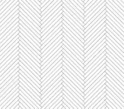 Modello in bianco e nero del parquet Fotografie Stock