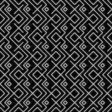 Modello in bianco e nero geometrico di ethno del cuscino di modo dei pantaloni a vita bassa Fotografia Stock Libera da Diritti