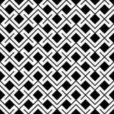 Modello in bianco e nero geometrico di ethno del cuscino di modo dei pantaloni a vita bassa Fotografie Stock Libere da Diritti