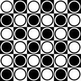 Modello in bianco e nero senza cuciture astratto - illustrazione di vettore Immagine Stock Libera da Diritti