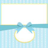 Modello in bianco per la cartolina d'auguri Immagini Stock