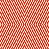 Modello bianco rosso a strisce diagonale Linee rette fondo di ripetizione astratta di struttura Fotografia Stock Libera da Diritti