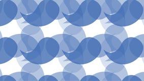 Modello blu astratto di forma della curva Fotografia Stock Libera da Diritti
