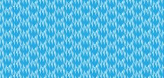 Modello blu astratto moderno semplice del modello di onda di zigzag Fotografia Stock Libera da Diritti