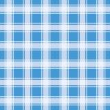 Modello blu del percalle, fondo geometrico illustrazione di stock