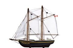 Modello blu della barca del radiatore anteriore Immagini Stock