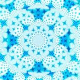 Modello blu e bianco di disegno della priorità bassa dell'estratto della stella Immagine Stock Libera da Diritti
