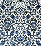 Modello blu e bianco orientale Fotografia Stock Libera da Diritti