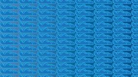 Modello blu semplice della nuvola Fotografie Stock Libere da Diritti